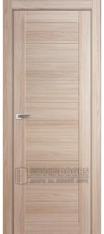 Дверь 7X (глухая) капучино