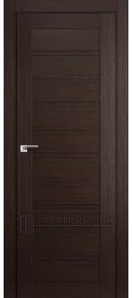 Дверь 7X (глухая) Венге
