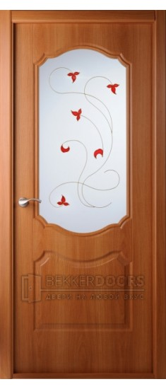 Дверь Перфекта ПО Миланский орех