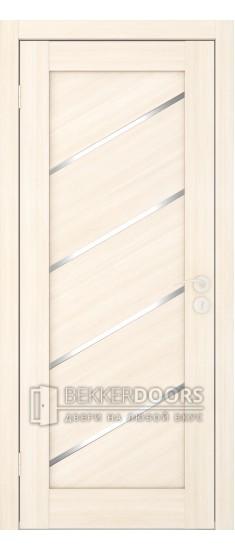 Дверь Диагональ ПО 1 Беленый дуб