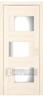 Дверь Домино ПО  Беленый дуб