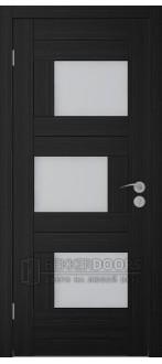 Дверь Домино ПО  Венге