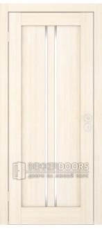 Дверь Вертикаль ПГ Беленый дуб