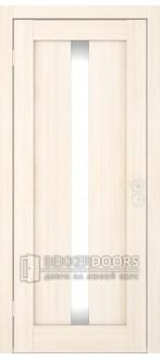 Дверь Вертикаль ПО Беленый дуб