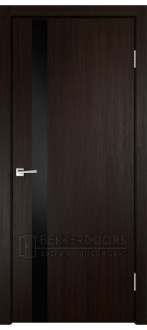 Дверь SMART Z1 лакобель Венге