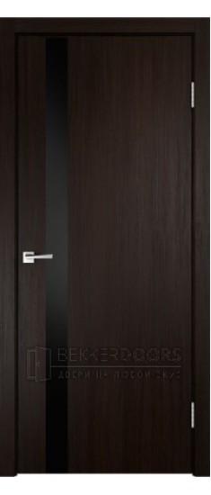 Дверь SMART Z1 лакобель черное  Венге