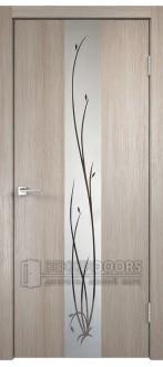 Дверь SMART Z2 зеркало капучино