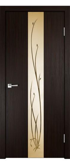 Дверь SMART Z2 зеркало Венге