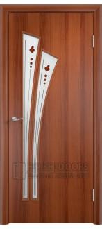 Дверь 4С4ф Итальянский орех