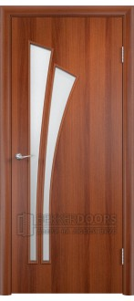 Дверь 4С4 Итальянский орех