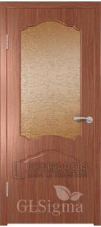 Дверь ПО Sigma-32 Итальянский орех