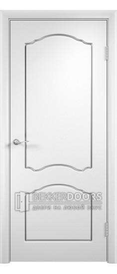 Дверь Альфа ПГ Белый