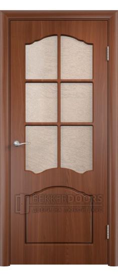Дверь Альфа ПО Итальянский орех