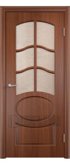 Дверь Неаполь ПО Итальянский орех