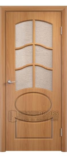Дверь Неаполь ПО Миланский орех
