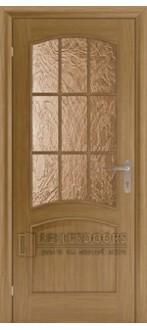 Дверь Капри 3 ПО Светлый дуб