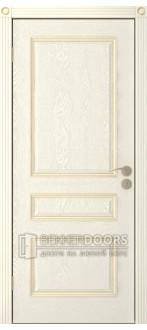 Дверь Трио ПГ Эмаль крем