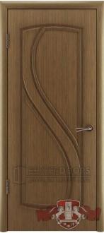 Дверь 10ДГ3 Грация Орех