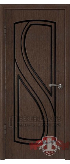 Дверь 10ДГ4 Грация Венге
