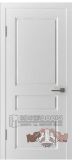 Дверь 15ДГ0 Честер Эмаль белая