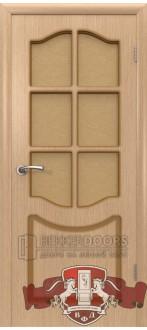 Дверь 2ДР1 Классика Светлый дуб