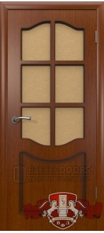 Дверь 2ДР2 Красное дерево