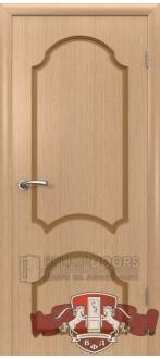 Дверь 3ДГ1 Кристалл Светлый дуб
