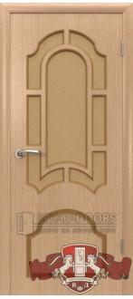 Дверь 3ДР1 Кристалл Светлый дуб