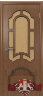 Дверь 3ДР3 Кристалл Орех