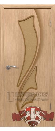Дверь 5ДО1 Лилия Светлый дуб