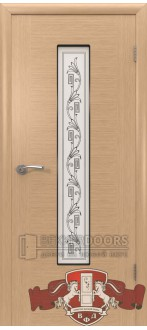 Дверь 8ДО1 Рондо Светлый дуб