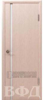 Дверь 8ДГ5 Рондо триплекс Беленый дуб