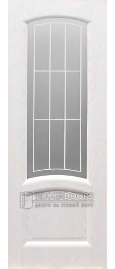 Дверь Александрит ПО Эмаль белая