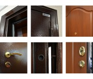 Виды металлических дверей