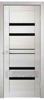 Дверь LINEA 6 ПО Дуб Белый поперечный