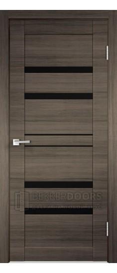 Дверь LINEA 6 ПО Дуб серый поперечный