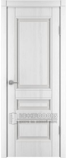 Дверь Сканди 2 ПГ Эмаль белая