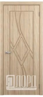 Дверь Кристалл 3 ПГ  Дуб рифленный