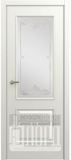 Дверь М-1 ДО Алмаз Белая