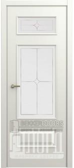 Дверь М-2 ДО Алмаз Белая