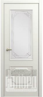Дверь М-3 ДО Алмаз Белая
