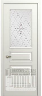 Дверь М-4 ДО Алмаз Белая