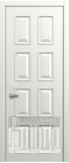 Дверь М-5 ДГ Белая