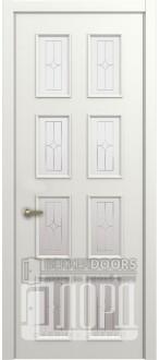 Дверь М-5 ДО Алмаз Белая