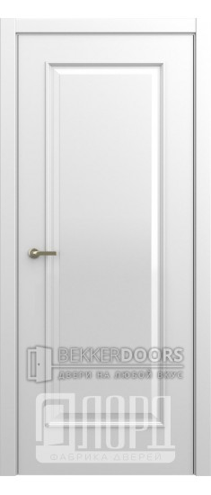Дверь М-6 ДГ Белая