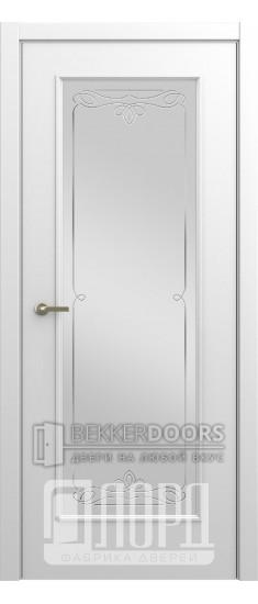 Дверь М-6 ДО Алмаз Белая