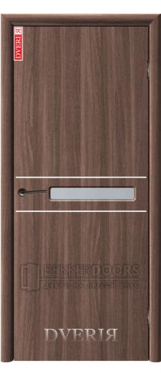 Дверь Твинго ПО Холст коричневый