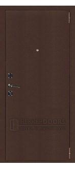 Дверь ДМ Атлант 3 Антик медь (Внешняя)