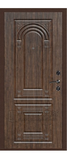Дверь ДМ Атлант 3 Тиковое дерево (Внутренняя)