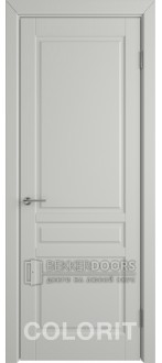 Дверь К2 ПГ Эмаль светло-серая